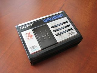 NEW Vintage Sony WM 33 Equalizer stereo cassette tape player Walkman