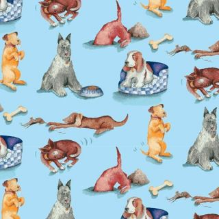 CASPARI 2 / 2 Sheet Rolls of Pet Dogs Gift Wrap / Wrapping Paper