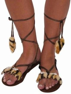 Wilma Flintstone cave woman womens halloween costume M