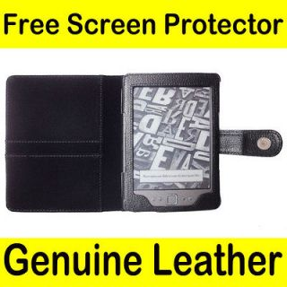 Newly listed Genuine Leather Pouch Case Cover for  Kindle 4 4th