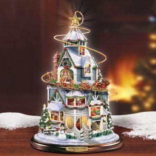 Thomas Kinkade Jigsaw Puzzle Ceaco The Night Before Christmas Winter