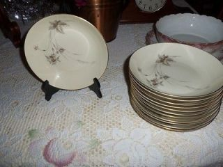Heinrich H & C SELB BAVARIA GERMANY China Anmut pattern w/ gold trim
