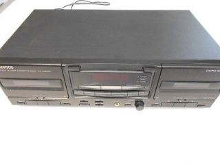 KENWOOD DOUBLE DUAL CASSETTE DECK KX W6060