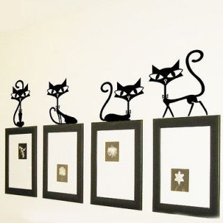 Cute Cats Decorate Home Removable Aesthetic Art Decor Mura HOT