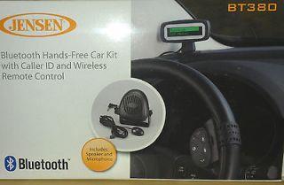 NEW JENSEN BT380 BLUETOOTH HANDS FREE CAR KIT CALLER ID WITH WIRELESS