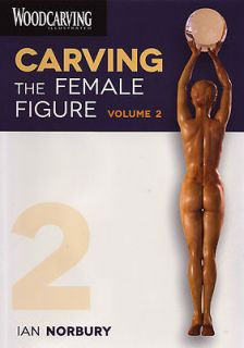 Carving the Female Figure 2 Wood Carving DVD   Ian Norbury