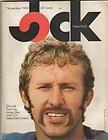 Jock New York Magazine November 1969 Joe Namath Fran Tarkenton Jets