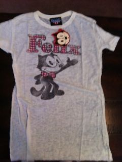 FELIX THE CAT T shirt Junk food WOMENS NEW WITH TAGS VINTAGE LOOK