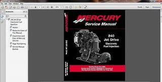 Jet Drive EFI Outboard Motor Service Repair Manual CD       JetDrive