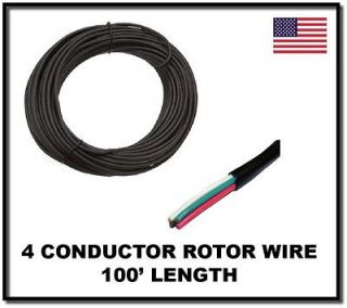 High Quality 4 Conductor Rotor Wire   Antenna Rotator Cable   3 / 4