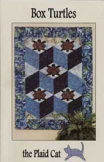 Box Turtles Quilt Pattern, The Plaid Cat