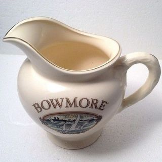 BOWMORE 15 Scotch Whisky Ceramic Water Pitcher/jug