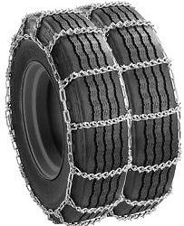 Semi Truck Snow V Bar Dual Tire Chains 285/75R24.5