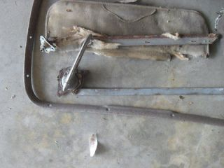1941 CHEVROLET COUPE LOT OF MISC PARTS