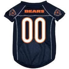Chicago Bears NFL football dog pet jersey (all sizes) NEW