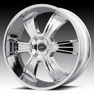 AR894 chrome wheels rims 5x4.75 5x120.65 chevy s10 blazer gmc sonoma