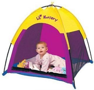 NEW IN BOX LIL NURSERY TENT PACIFIC PLAY TENTS INDOOR/OUTDOOR