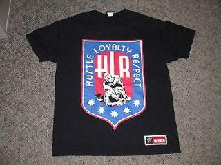 John Cena WWE HLR Hustle Loyalty Respect AWA Logo T Shirt Large U Can