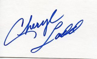 CHERYL LADD of CHARLIES ANGELS Autograph