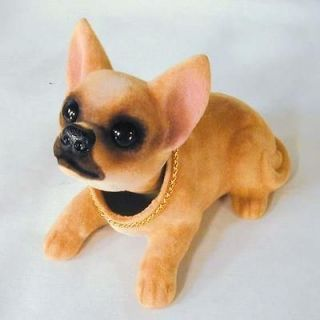 BOBBLE HEAD CHIHUAHUA DOGS mexican dog bobbing heads car dash pupppy