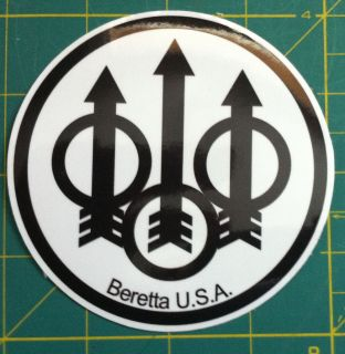 Beretta Gun Decals /Stickers