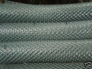 GALVANIZED HEAVY DUTY CHAIN LINK FENCE CHOOSE SIZE