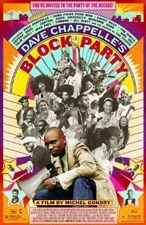 DAVE CHAPPELLES BLOCK PARTY Orig 2006 Movie Mini POSTER Kanye WEST