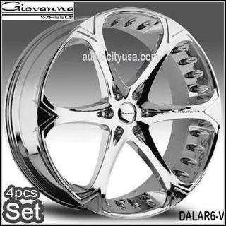 26 Giovanna Dalar6V Wheels Rims Chevy Tahoe Yukon