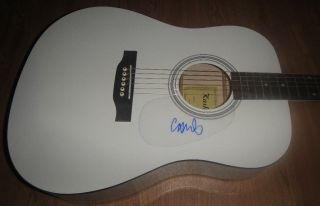 Chris Martin Coldplay Signed Autographed Acoustic Guitar Mylo Xyloto