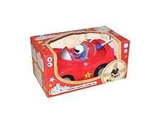 Carousel Remote Control Racing Car Red Steering Wheel Lights Sound