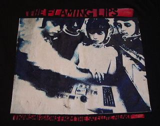 vintage 90s THE FLAMING LIPS XL T Shirt s/s grunge band Tee vtg 90s