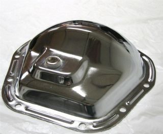 Chrome Steel Rear End Front End Dana 60 10 Bolt Differential Cover