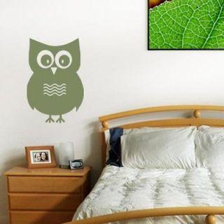 Owl Vinyl Wall Art Decal Sticker Transfer Kids Bedroom Decor AN005