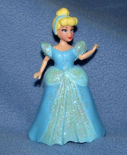 Princess Cinderella Miniature Doll Disney Figurine Action Figure Cake