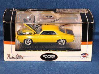 1969 Chevy Camaro 1/64 Diecast Chip Foose Design M2 Machine Custom