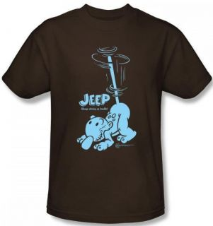 Youth SIZES Popeye Eugene The Jeep Retro Classic Comic t shirt top