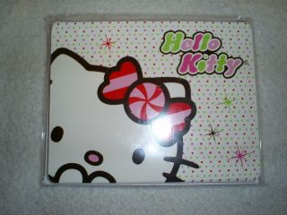Six Hello Kitty Blank Note Cards w/Envelopes