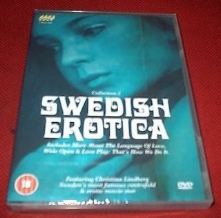 SWEDISH EROTICA VOL 2 Christina Lindberg 3 Disc SET