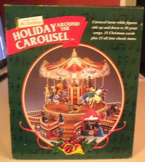 MR. CHRISTMAS HOLIDAY AROUND THE CAROUSEL 1999 PLAYS 30 SONGS