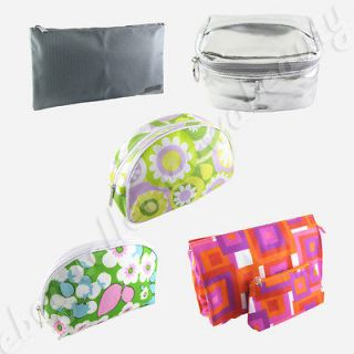 Choose One Clinique Makeup Cosmetic Bag Train Case Carrying Pouch