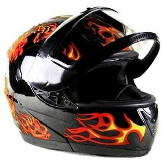 FLIP UP Full Face Adult Snowmobile Helmet Sizes S   XXL CLEARANCE