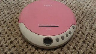 Coby CX CD109 Portable CD Player Walkman Discman Tested and Working
