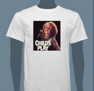 Childs Play Chucky T shirt   Choose your size