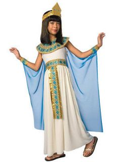 CLEOPATRA Queen Egyptian Childs Girls Halloween Costume Fancy Dress Up