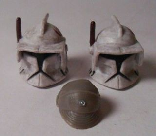 Star Wars Storm? Trooper Action Figures Heads Helmets