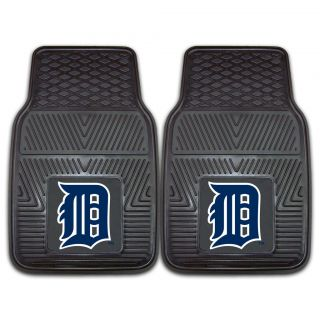 Fanmats Detroit Tigers 2 piece Vinyl Car Mats   8837.