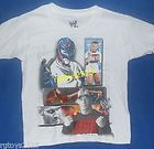 WWE CM Punk John Cena Shamus Rey Randy T Shirt Size 10 12 L New childs