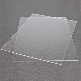 Clear Plastic Sheet (1ea. 9 x 12 sheet 0.015 of an inch thick)