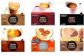 PICK&MIX x1 box Nescafe Dolce Gusto Coffee 16 Pods Capsules CHOOSE ANY