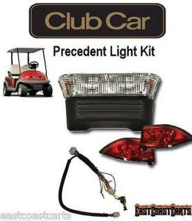 Club Car 2004 2007 ELECTRIC Precedent Golf Cart Plug & Go LIGHT KIT